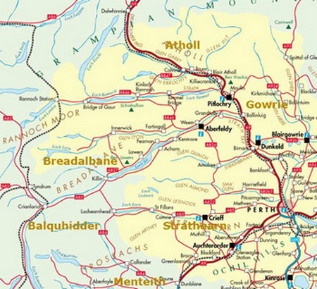 Pitlochry Scotland Map.Scotland Favourite Places To Visit