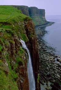 Isle of Skye, the Island of Dunvegan Castle, The Fairy Flag