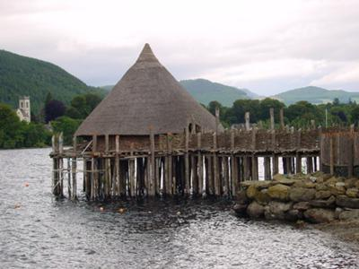 One of the Water Dwellings